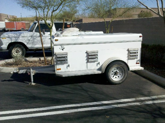 Used  Hole Dog Trailer For Sale